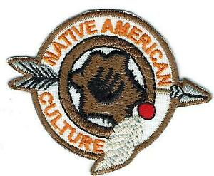 Girl Boy Indian Native American Culture Fun Patches Crest Badge Scout Guide  Lore