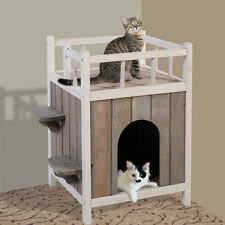Cat House Pet Dog Home Puppy Kennel Cave Nest Indoor Outdoor Shelter