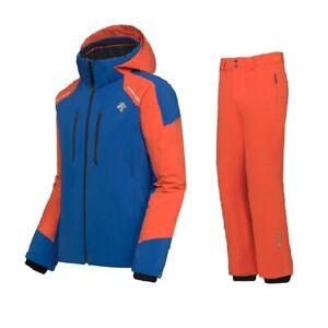 DESCENTE SLADE Ski Jacket + ROSCOE Ski Salopette Completo Uomo Sci DWMQGK17 55