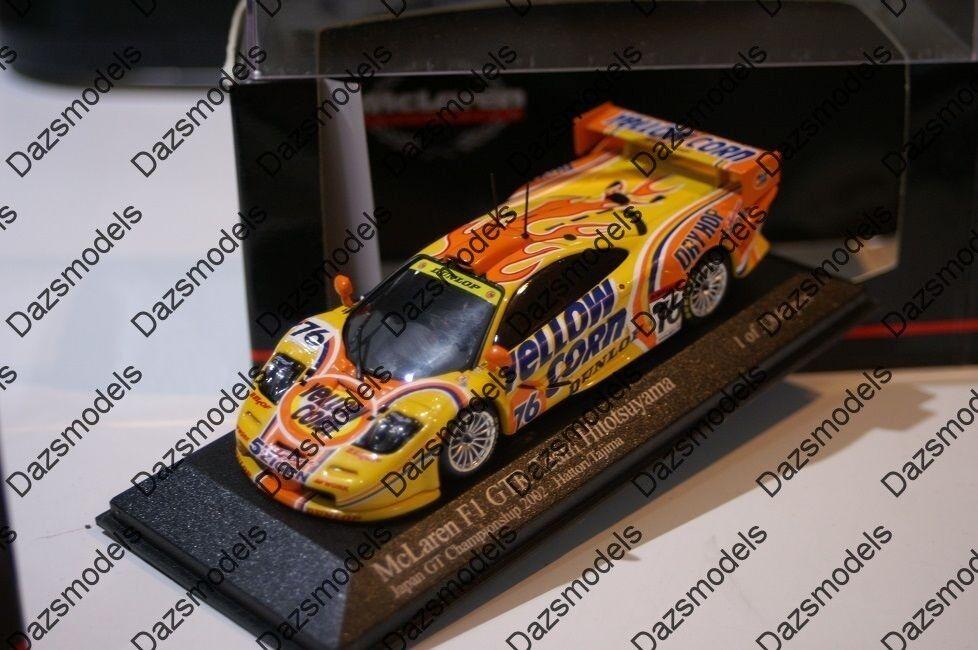 Minichamps McLaren f1 GTR JGTC 2002 Gennosuke jaune Corn Corn Corn - 224376 403f85