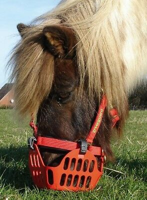 Hufrehe AKTION Maulkorb f/ür Ponys gegen Kolik Fressbremse