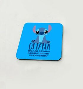 Lilo-And-Stitch-Ohana-Means-Family-Disney-Cup-Coasters-Dining-Table-Cork-Board