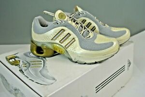 Womens Adidas 1 White and Gold
