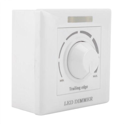 LED Dimmer Schalter Mit IR Fernbedienung Drehdimmer Helligkeitsregler 220V 200W✿