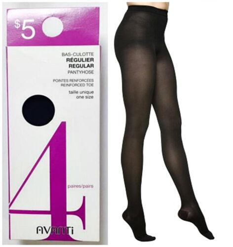 Black Avanti Pantyhose