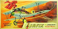 Old Airfix (Craft Master) 1/72 kit#1003-30  Albatross Scout MIB