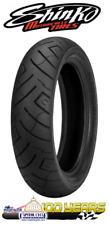 130//90B16 R777 6PR 73H All Black Reinforced Rear Tire Shinko 87-4594