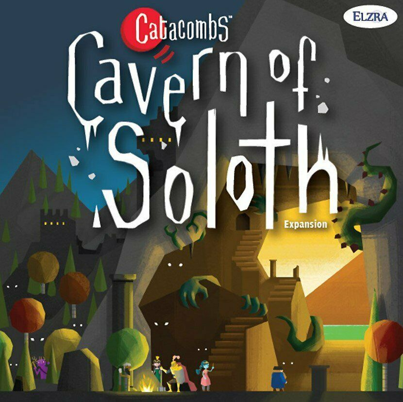 Catacombs  Cavern of Soloth Expansion Elzra BRAND NEW ABUGames