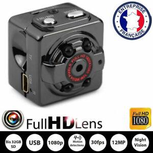 12MP-Camera-Espion-HD-1080P-Detection-de-Mouvement-Maison-Securite-Vision-Nuit