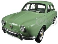 1958 Renault Dauphine Ash Green 1/18 Diecast Model Car By Norev 185167