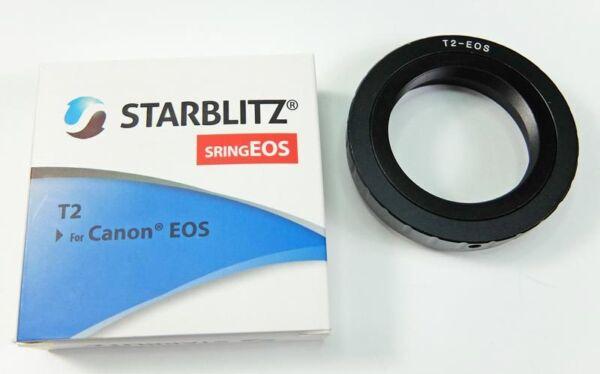 Actif Bague T2 Starblitz Pour Canon Eos Emballage Fort