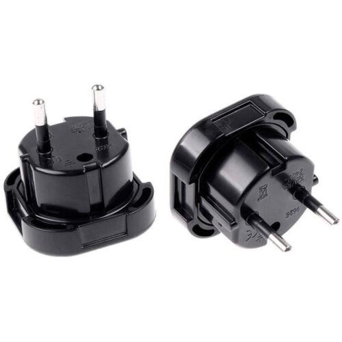 Universal Travel UK EU Euro AC Power Plug Charger Adapter Socket Konverter BAF