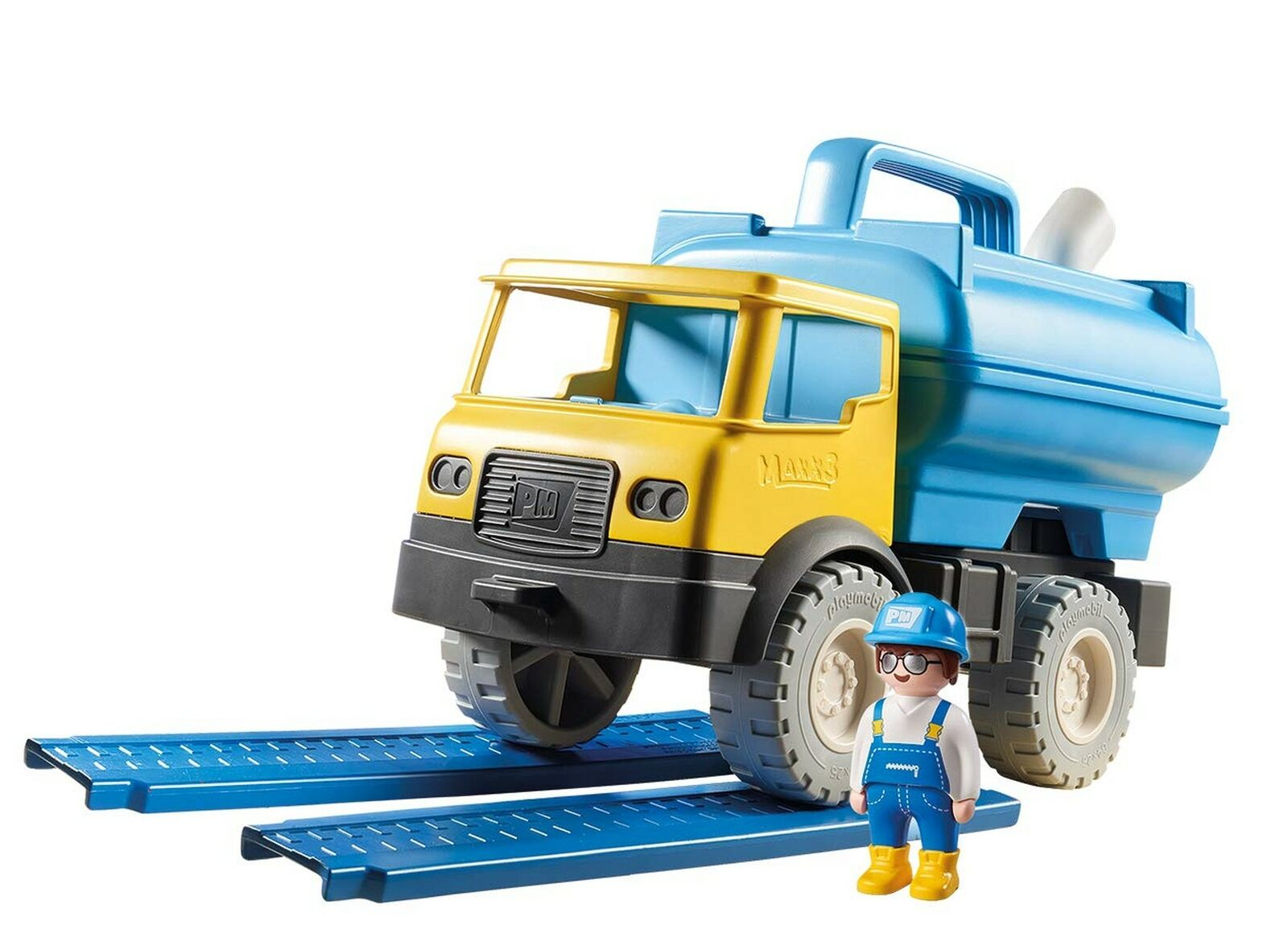 Playmobil Playmobil Playmobil 9144 Sand Water Tank Truck with Removable Tank b47aef