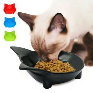 Ceramic-Cat-Bowl-Feeding-Bowls-Non-Slip-Puppy-Kitten-Water-Food-Dishes-for-Pets