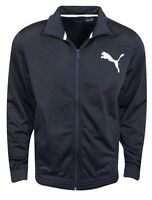 Puma- Contrast Jacket Navy Size Large on Sale