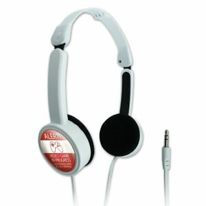 Alert-Video-Game-In-Progress-Funny-Portable-Foldable-On-Ear-Headphones