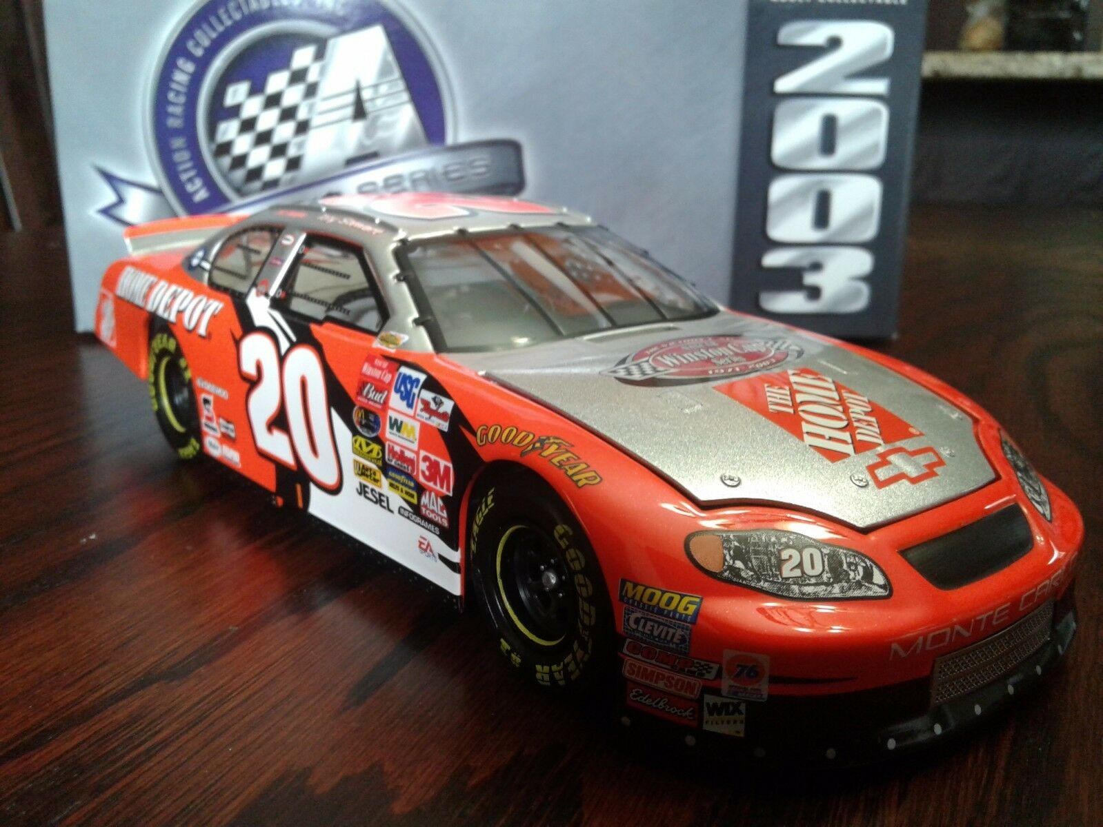 2003 Tony Stewart Platinum Series Bank Bank Bank Home Depot Victory Lap 1 24  1 of 492 f19a75
