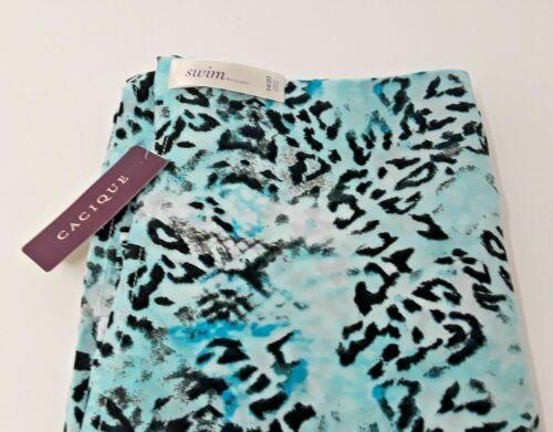 Lane Bryant Animal Print Swim COVER UP Swimming Suit Wrap PLUS SIZE 22//28 3X 4X