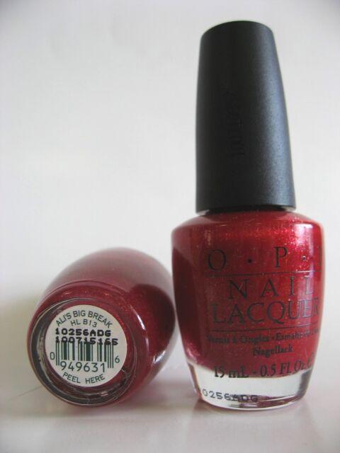 OPI Nail Polish - VHTF - Classic Color - HL B13 - ALI'S BIG BREAK