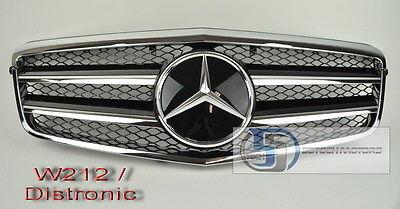 2010~2012 W212 Mercedes NEW E Class E350 E550 Grill grille Black DISTRONIC