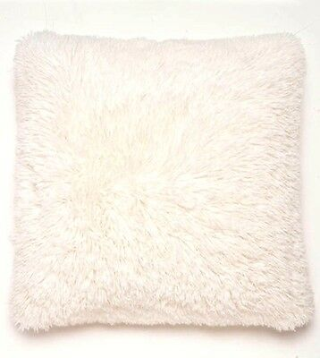 Cuddly Fur Cushion Cover, Super Soft Shaggy Cushions, 45 x 45 cm,  7 Colours