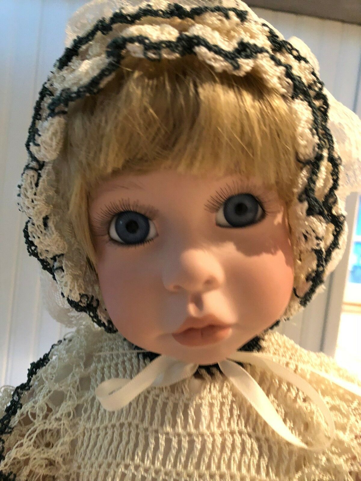 1996 Artist Janis Berard  Janis  Doll by Kias 23 All Porcelain doll