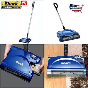 Shark Swivel Floor Carpet Sweeper Rechargeable Cordless