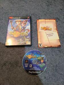 Dark-Cloud-2-Sony-Playstation-2-PS2-Complete-CIB-Black-Label