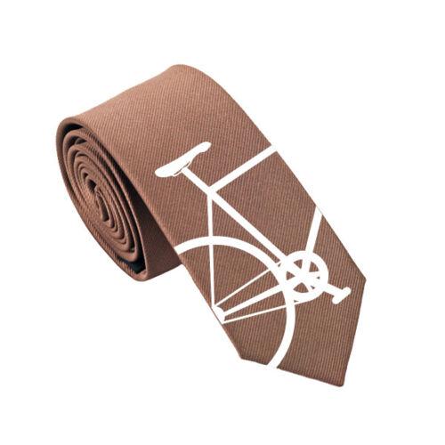 Bike Tie Slim Tie Cyclist Christmas Gift Bicycle 100/% Silk Tie Wedding Tie.