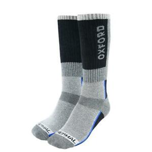 Oxford-Long-Thermique-Moto-Oxsocks-Hiver-Equitation-Moto-Scooter-Chaussettes