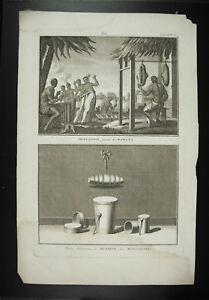 Instrument-von-Musik-Molukken-Rabana-c1750-Traegertop-Oberteil-Molucca-Islands