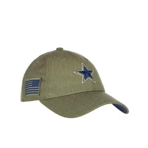 Dallas Cowboys Women s New Era Salute To Service Adjustable Hat  d8bb6a610