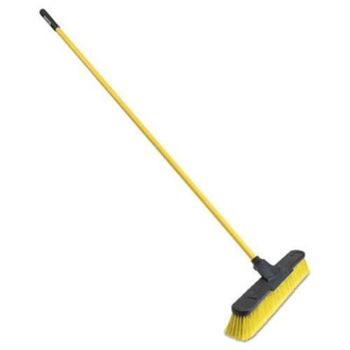 "Quickie 639FGRM15 Multisurface Pushbroom 63 3//4/"" Handle Pet//steel, 24/"" Brush"