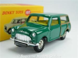 DINKY-TOYS-MORRIS-MINI-TRAVELLER-MODELLO-AUTO-1-43-SCALA-197-VERDE-ATLAS-Editions-K