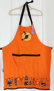 Details About Nwt Sur La Table Adult Halloween Witch Kitchen Apron 100 Cotton