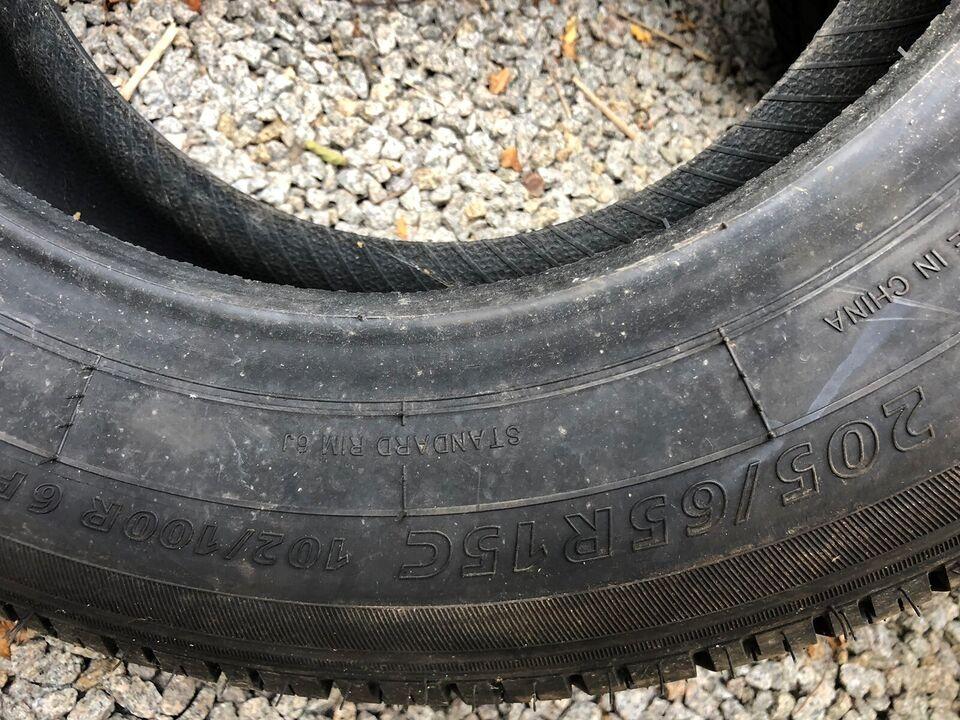 Anden dæktype, 205 / 65 / R15, 100% mønster
