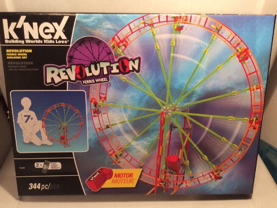 K'NEX Revolution Ferris Wheel Building Set, 344 Pieces New