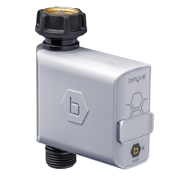 21005 B-hyve Bluetooth Hose Faucet Timer, Control hose timer