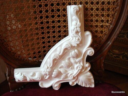Stucco schönes Eckdekor 102-031 Deckenspiegel Stuck Blumen individuell