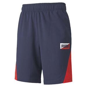 PUMA-Summer-Print-Men-039-s-Shorts-Men-Knitted-Shorts-Basics