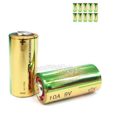 12 pcs 10A 9V L1022 Alkaline Single Use battery For Remote Doorbells Lighters