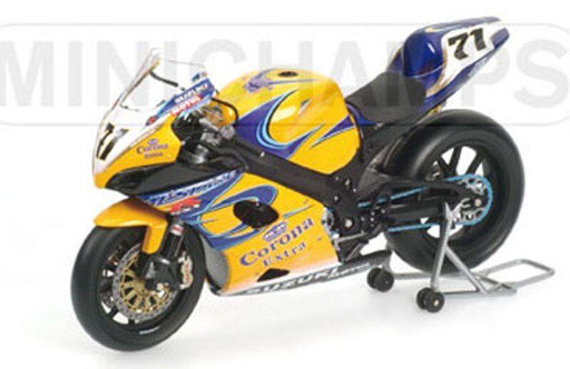 promociones Minichamps 122 052271 Suzuki GSX R1000 R1000 R1000 AlEstrellae Yukio Kagayama WSB 2005 1 12th  venta directa de fábrica