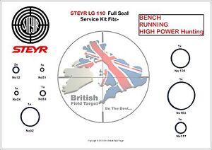 Full-Premium-Seal-Service-kit-Fits-STEYR-LG-100-110-Bench-Running-amp-High
