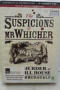 the suspicions of mr witcher by summerscale unabridged cassette