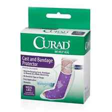 Curad Cast and Bandage Protector, Waterproof, Kids Leg 2 ea (Pack of 3)