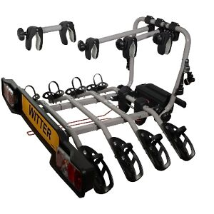 Witter-ZX304-Tow-Bar-Mounted-4-Four-Bike-Cycle-Carrier