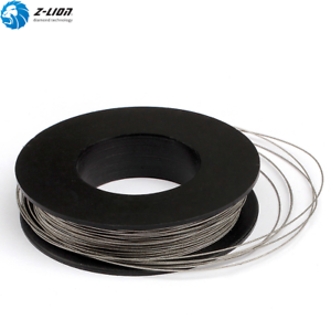 D 0.6mm Electroplated Diamond Wire Saw 3M Cutting Wire Saw Blade for Marble
