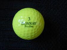 """20 Donnay """"Pro uno amarillo"""" Pelotas de Golf-Perla/a """"notas""""."""