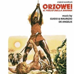Orzowei - Il Figlio Della Savana (G. & M. De Angelis) CD - Digitmovies - Nuovo