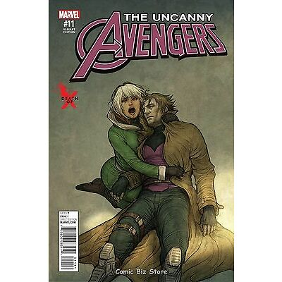 UNCANNY AVENGERS #11 (2016) 1ST PRINT DEATH OF X VARIANT COVER